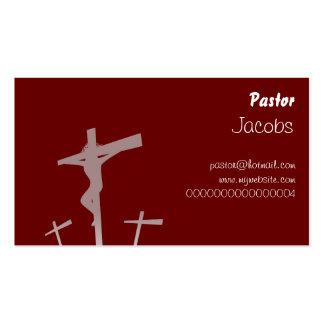 Calvary, pastor, tarjetas de visita