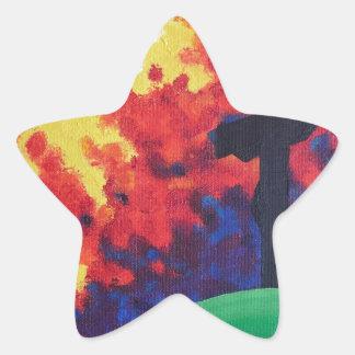 Calvary Calcomanías Forma De Estrellas