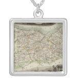 Calvary Square Pendant Necklace