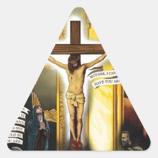 Calvary-Viejo-Testamento-Tipología - DP 12-20-2012 Pegatina Triangular