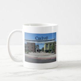 Calv� factory mug
