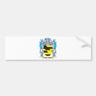 Calvert Coat of Arms - Family Crest Car Bumper Sticker