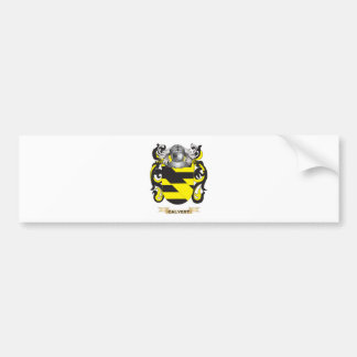 Calvert Coat of Arms (Family Crest) Car Bumper Sticker