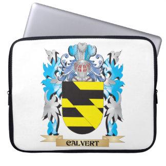 Calvert Coat of Arms - Family Crest Computer Sleeve