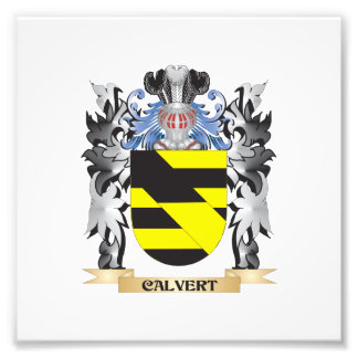 Calvert Coat of Arms - Family Crest Photo Print