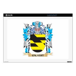 Calvert Coat of Arms - Family Crest Laptop Decal