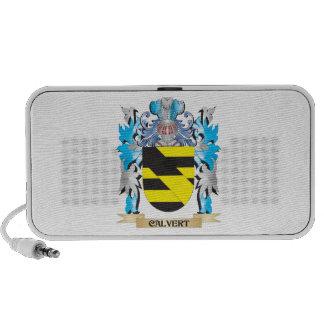 Calvert Coat of Arms - Family Crest Travel Speaker