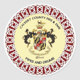 Calvert County Pipes and Drums Sticker