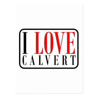 Calvert, diseño de la ciudad de Alabama Postal