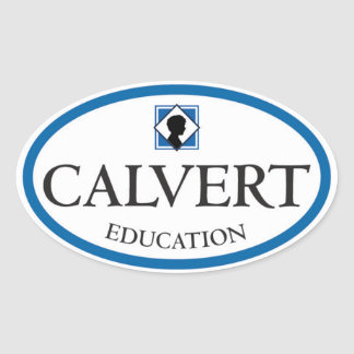 Calvert Education Oval Stickers (Set of Four)