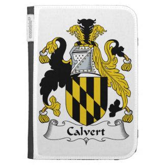 Calvert Family Crest Kindle Cover