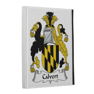Calvert Family Crest iPad Folio Cover