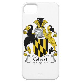 Calvert Family Crest iPhone 5 Cases