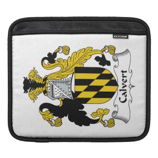 Calvert Family Crest iPad Sleeves