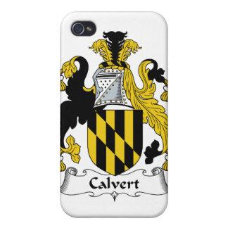 Calvert Family Crest Case For iPhone 4