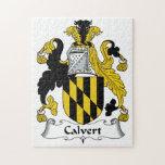 Calvert Family Crest Puzzles