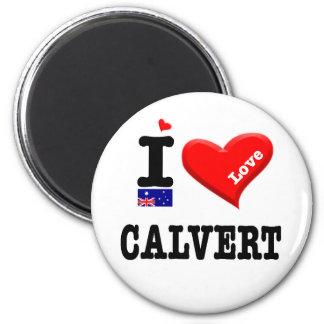 CALVERT - I Love Magnet
