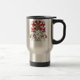 Calvet Family Crest Coffee Mugs