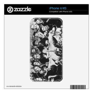 Calvin and Luther (engraving) Decal For The iPhone 4S