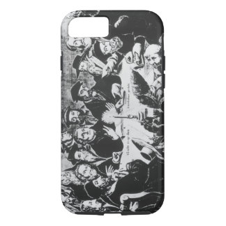 Calvin and Luther (engraving) iPhone 7 Case