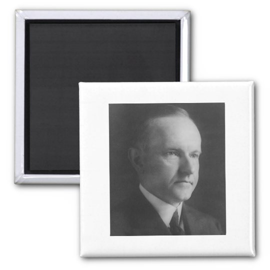 Persistence Motivational Quotes: Calvin Coolidge 30 Magnet