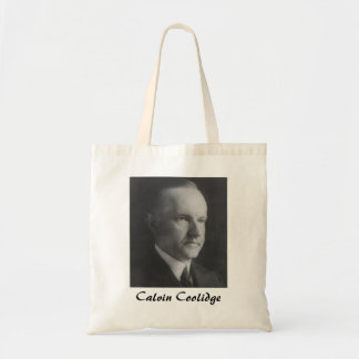 Calvin Coolidge Canvas Bag