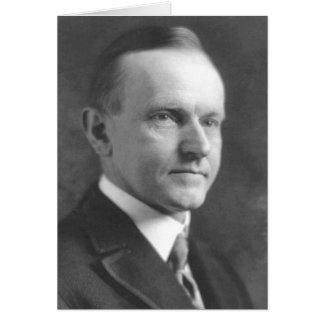 Calvin Coolidge Card