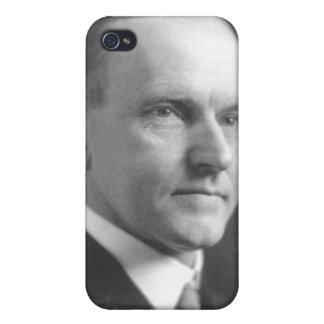 Calvin Coolidge iPhone 4 Fundas