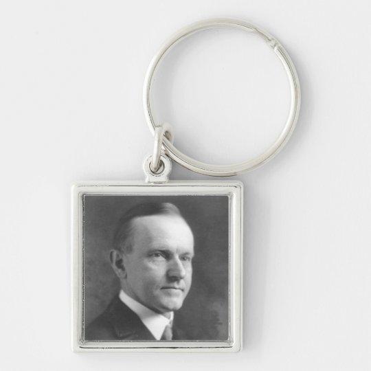 Calvin Coolidge Keychain