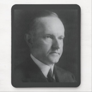 Calvin Coolidge Mouse Pads