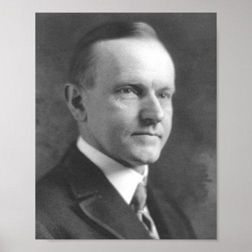Calvin Coolidge Poster
