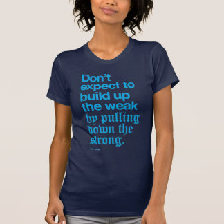Calvin Coolidge Quote I T-shirt