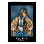 Calvin equino (Clotheshorse) Felicitación