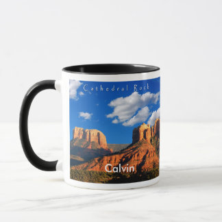 Calvin on Cathedral Rock and Courthouse Mug