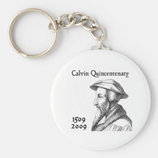 Calvin Quincentenary Keychain