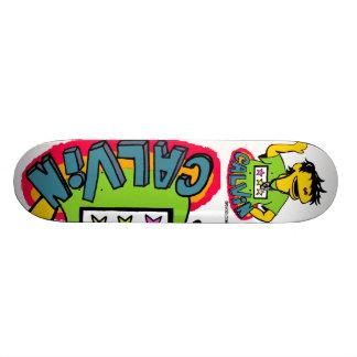 Calvin Skate Board Deck