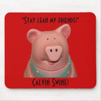 Calvin Swine Mousepad! Mouse Pad