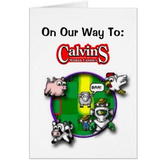 Calvins Cheese Steak Card