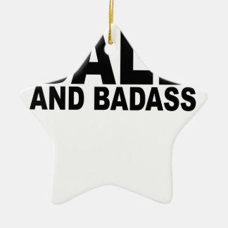 Calvo y Badass T-Shirts.png Adorno De Cerámica En Forma De Estrella