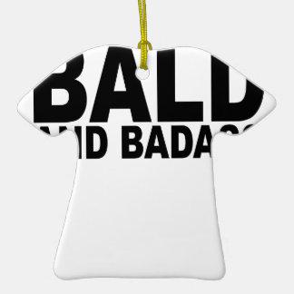 Calvo y Badass T-Shirts.png Adorno De Cerámica En Forma De Camiseta