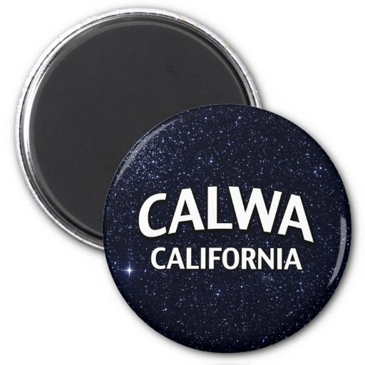Calwa California Refrigerator Magnets