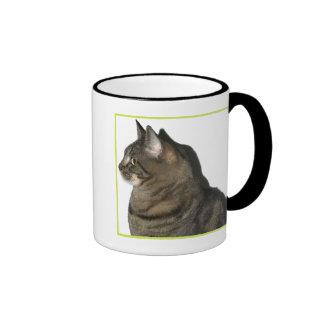 Calypso Cat Profile on White Mug