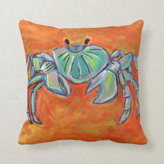 Calypso Crab Pillow island colors