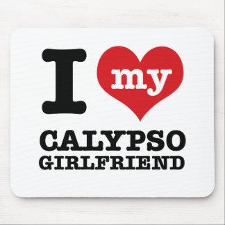 Calypso dance designs mouse pad