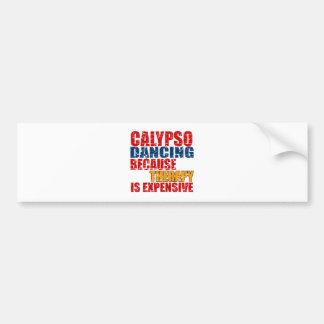 Calypso Designs Bumper Sticker