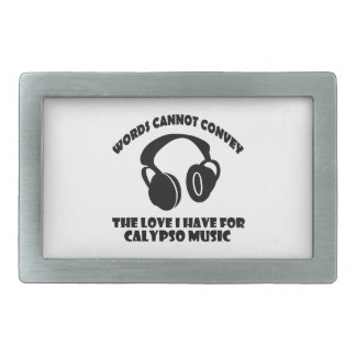 Calypso Music designs Belt Buckle