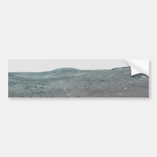 Calypso Panorama of Spirit's View from Troy in 3D Car Bumper Sticker