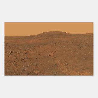 Calypso Panorama of Spirit's View from Troy Rectangular Sticker
