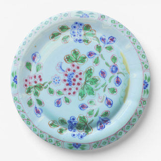 Calyx Ware Old Bow Vintage Design Paper Plate 9 Inch Paper Plate