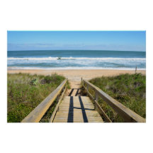 Calzada a la playa poster